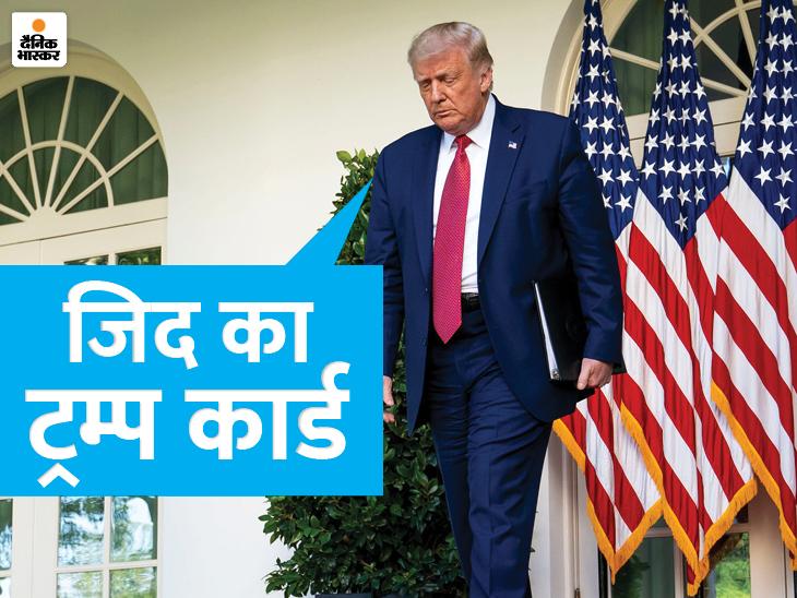 अमेरिकी राष्ट्रपति ने एडवाइजर्स से कहा- बाइडेन की शपथ वाले दिन भी व्हाइट हाउस नहीं छोड़ूंगा