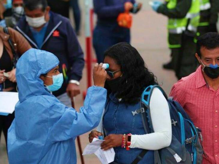 दक्षिण अमेरिकी देश कोलंबिया में संक्रमण तेजी से फैल रहा है। गुरुवार को यहां 12 हजार से ज्यादा नए मामले सामने आए। माना जा रहा है कि सरकार फेस्टिव सीजन के दौरान सख्त पाबंदियां लगा सकती है।