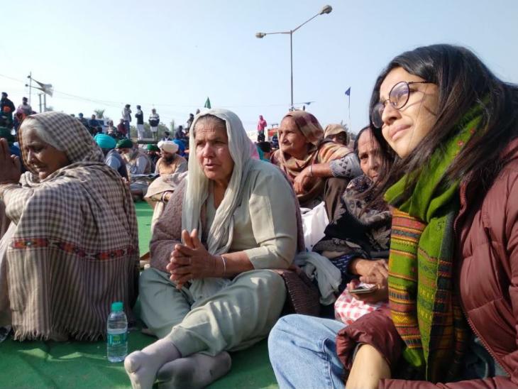 किसानों के समर्थन में सिंघु बॉर्डर पहुंची स्वरा भास्कर, बोलीं- मेरा रोटी से नाता, इसलिए मेरा किसानों से भी नाता है बॉलीवुड,Bollywood - Dainik Bhaskar