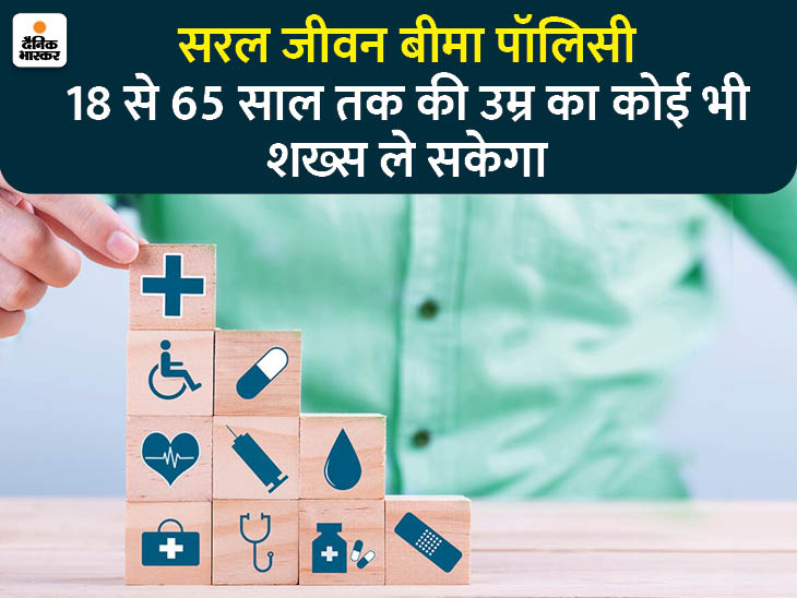 1 जनवरी से खत्म हो जाएगी लाइफ इंश्योरेंस चुनने की समस्या, लॉन्च होगी 'सरल जीवन बीमा' पॉलिसी|यूटिलिटी,Utility - Dainik Bhaskar