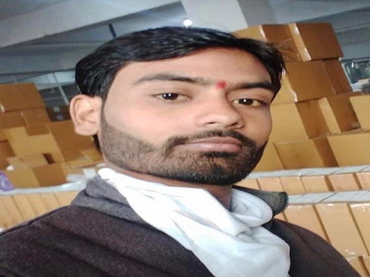 पानीपत में टक्कर के बाद 250 मीटर तक बाइक को घसीटता रहा कैंटर चालक, सुपरवाइजर की मौत|पानीपत,Panipat - Dainik Bhaskar