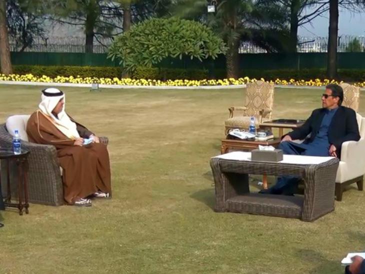 पाकिस्तान ने UAE से कहा- इजराइल को मान्यता नहीं देंगे; सऊदी एम्बेसडर से मिले इमरान खान|विदेश,International - Dainik Bhaskar