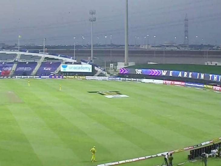 IPL के दौरान खाली पड़े स्टेडियम।