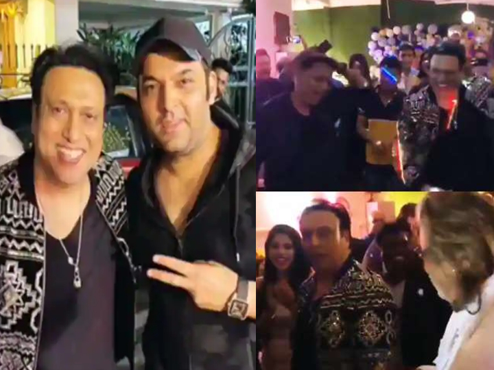 Govinda's Birthday Celebration: 57-year-old Govinda set fire to the dance floor, stunned at the song 'Coolie No.1' at the birthday-day party - Jsnewstimes