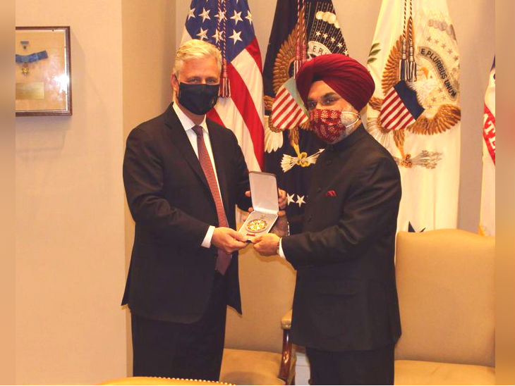Modi's American honor: PM Modi was given the Legion of Merit, elected to make India a global power