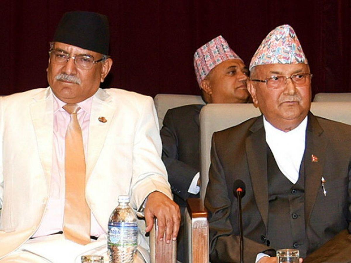 नेपाली कम्युनिस्ट पार्टी की आंतरिक कलह से भंग हुई संसद, पार्टी टूटने के करीब|विदेश,International - Dainik Bhaskar