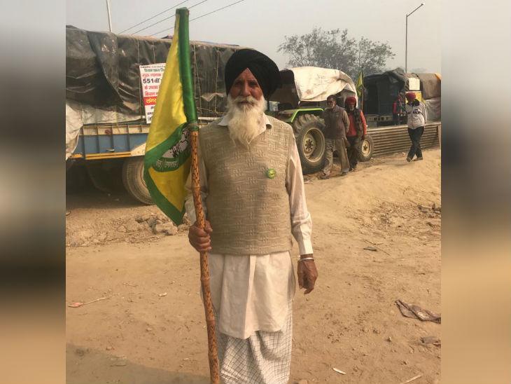 किसान आंदोलन में बच्चों और युवाओं के साथ ही बुजुर्ग भी शामिल हैं। वे कहते हैं कि हम यहां से जीतकर ही जाएंगे।
