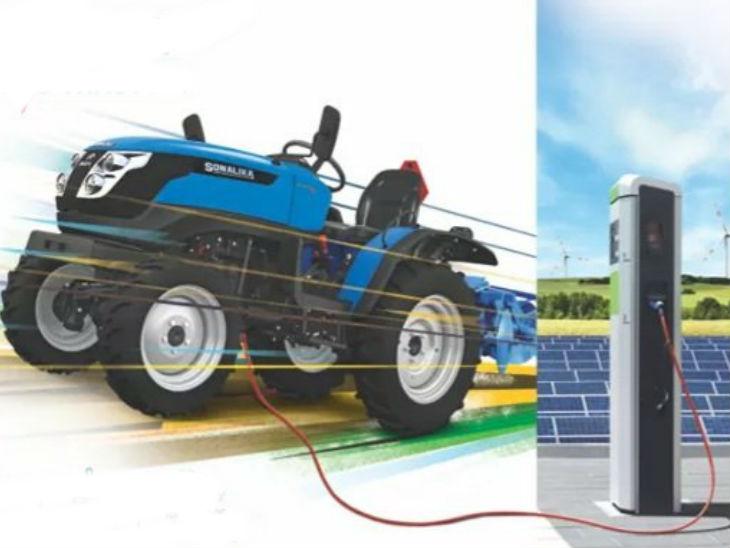 सोनालिका टाइगर इलेक्ट्रिक लॉन्च; कंपनी का दावा-डीजल ट्रैक्टर की तुलना में इस चलाने की लागत एक-चौथाई, कीमत 5.99 लाख टेक & ऑटो,Tech & Auto - Dainik Bhaskar