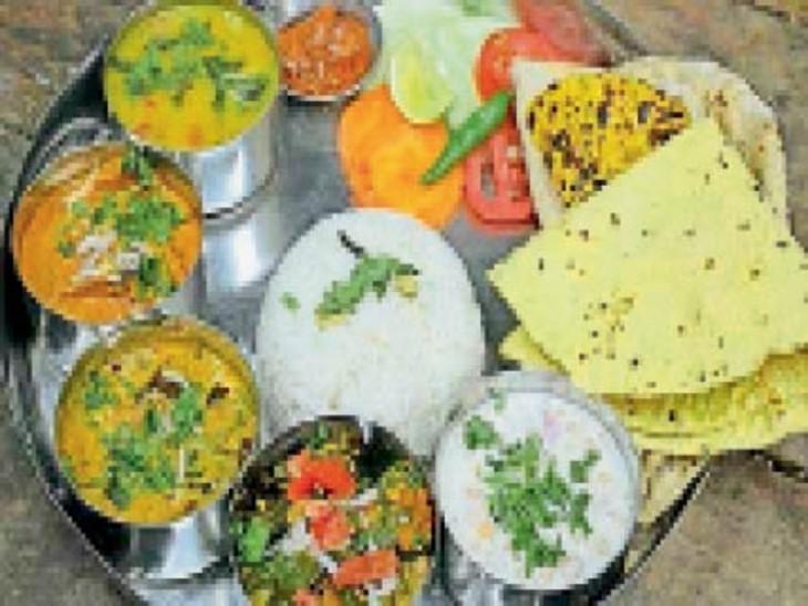 भारतीय थाली है संतुलित आहार की मिसाल, इसमें है प्रोटीन, कार्बोहाइड्रेट, विटामिन्स, मिनरल्स का सही मिश्रण: डॉ. यादव|जोधपुर,Jodhpur - Dainik Bhaskar
