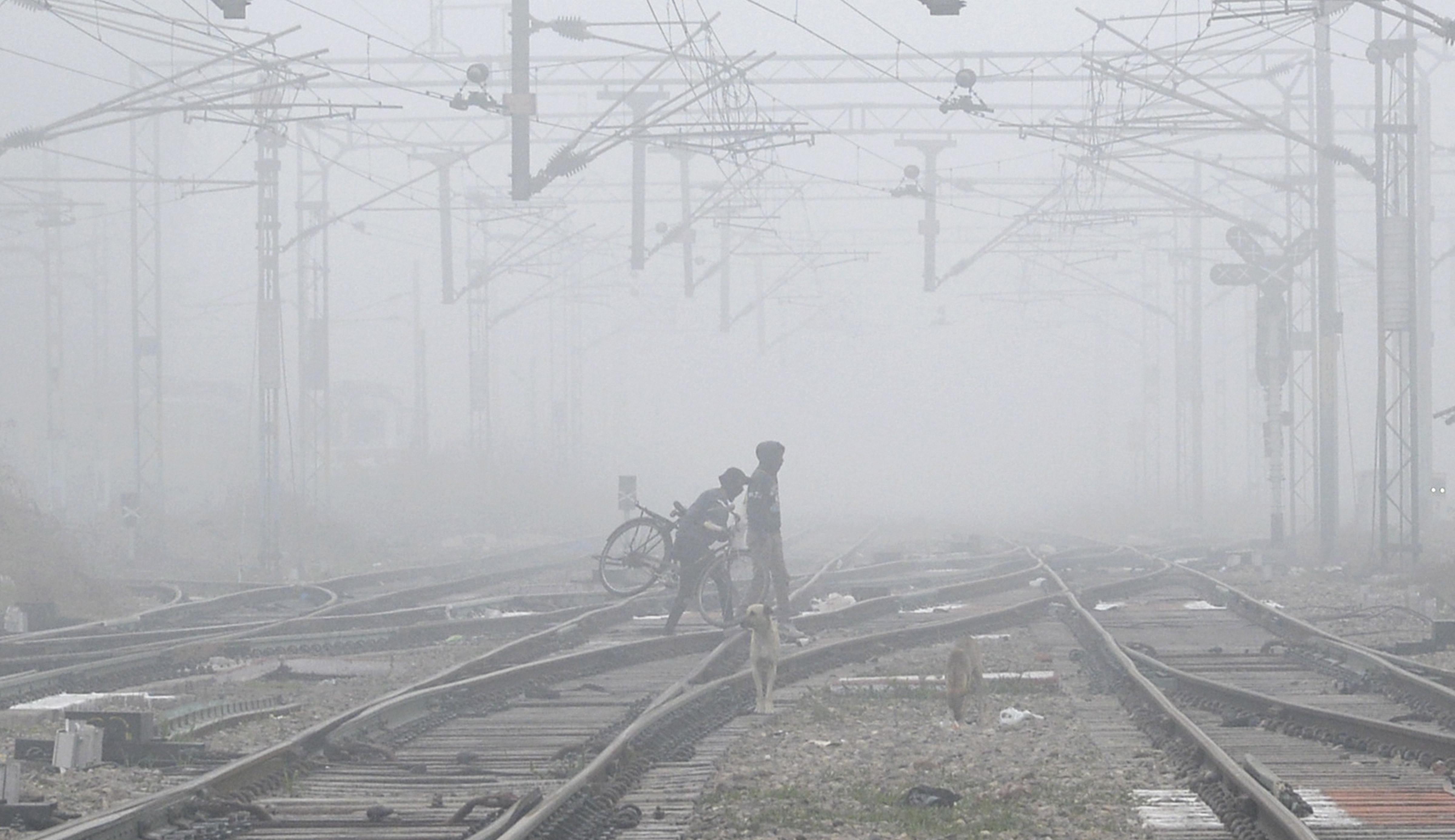 पंजाब में इन दिनों काफी ठंड पड़ रही है। रविवार को जालंधर में कोहरा भी छाया रहा।