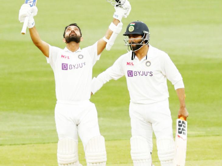 Ajinkya Rahane records Ravindra Jadeja India vs Australia 2nd test day 2 latest updates | 21 साल बाद बॉक्सिंग डे टेस्ट में इंडियन कैप्टन की सेंचुरी; MCG पर 2 शतक लगाने वाले पहले भारतीय