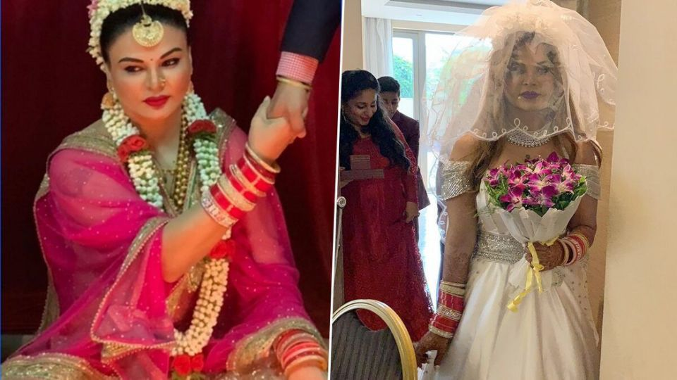 Secret wedding of celebs: Who is Rakhi's husband, could not get up till date, these celebs also shocked everyone with secret marriage MediaWinii 16/01/2021