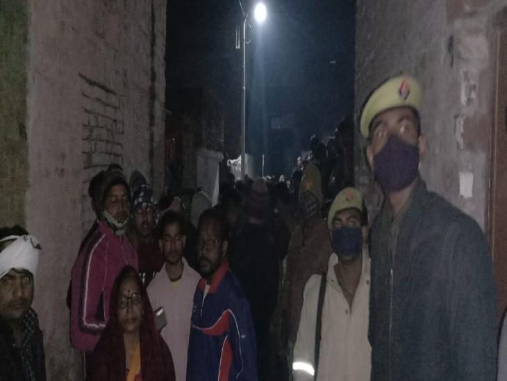 वाराणसी में पति ने पत्नी की हत्या कर लाश को आंगन में दफनाया, बेटे को शक होने पर खुला राज|वाराणसी,Varanasi - Dainik Bhaskar