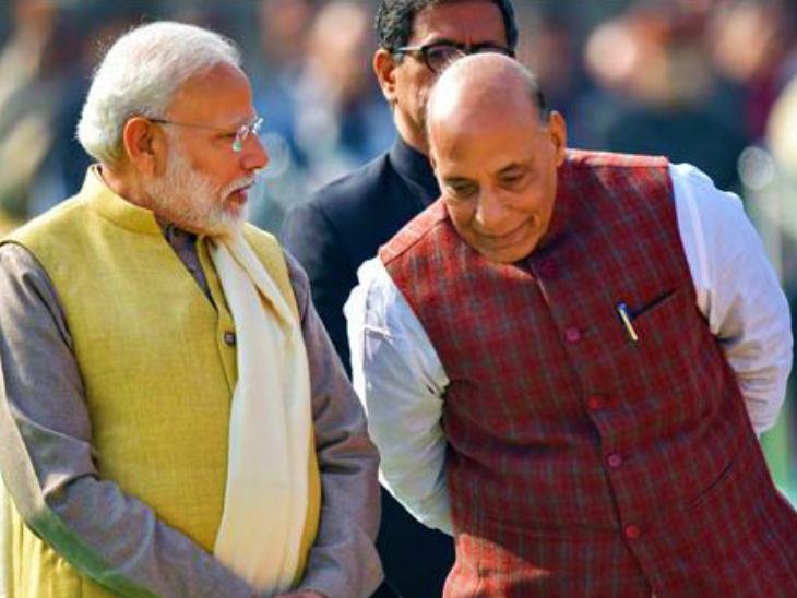 रक्षा मंत्री बोले- मैं किसान परिवार और मोदी गरीब घर में पैदा हुए, खेती के बारे में राहुल से ज्यादा जानते हैं|देश,National - Dainik Bhaskar