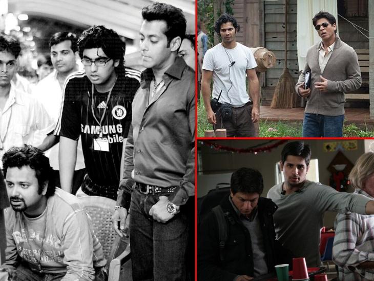 वरुण धवन, सिद्धार्थ मल्होत्रा से लेकर रणबीर कपूर तक, बिहाइन्ड द कैमरा काम करते हुए बॉलीवुड के पसंदीदा चेहरे बने ये सेलेब्स|बॉलीवुड,Bollywood - Dainik Bhaskar