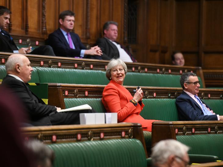 ब्रिटेन के सांसदों ने बुधवार को ब्रेग्जिट डील के लिए वोटिंग की।