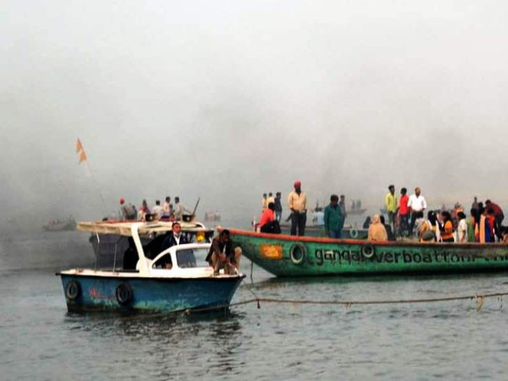 नौका संचालन समिति की बैठक में नावों पर तमाम पाबंदियों पर निर्णय लिया गया है। नावों पर किसी भी तरह के पार्टी पर पाबंदी। - Dainik Bhaskar