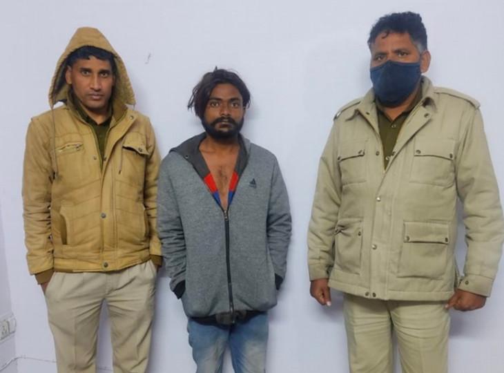 मामूली झगड़े में लात मारी तो बदले में पहले पैर तोड़ा; हत्या कर शव 300 फीट दूर चबूतरे पर फेंका जयपुर,Jaipur - Dainik Bhaskar