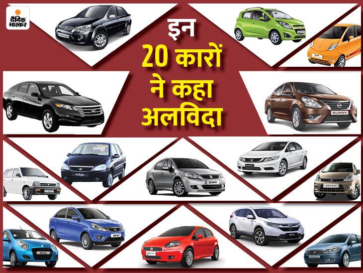 फैमिली कार मारुति 800 से लेकर प्रीमियम होंडा सिविक तक, पिछले 10 सालों में बाजार से बाहर हुईं ये 20 कारें; देखें लिस्ट टेक & ऑटो,Tech & Auto - Dainik Bhaskar