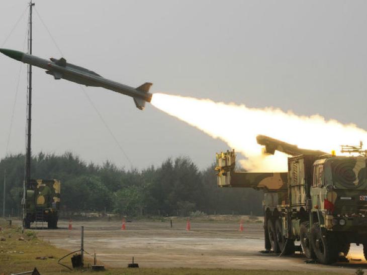 भारत अब रक्षा उपकरण एक्सपोर्ट करेगा, आकाश मिसाइल सिस्टम में 9 देशों ने दिखाई दिलचस्पी|देश,National - Dainik Bhaskar