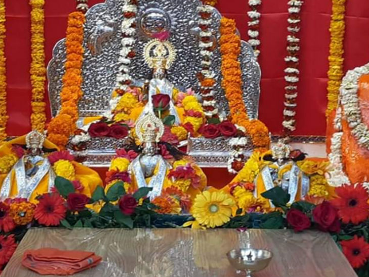 नए साल में नए वस्त्र से सजेंगे प्रभु श्रीराम: श्रीरामलला को 56 भोग का प्रसाद, पुजारी सत्येंद्र दास बोले- 2021 में भक्तों के कष्ट दूर होने की उम्मीद होगी