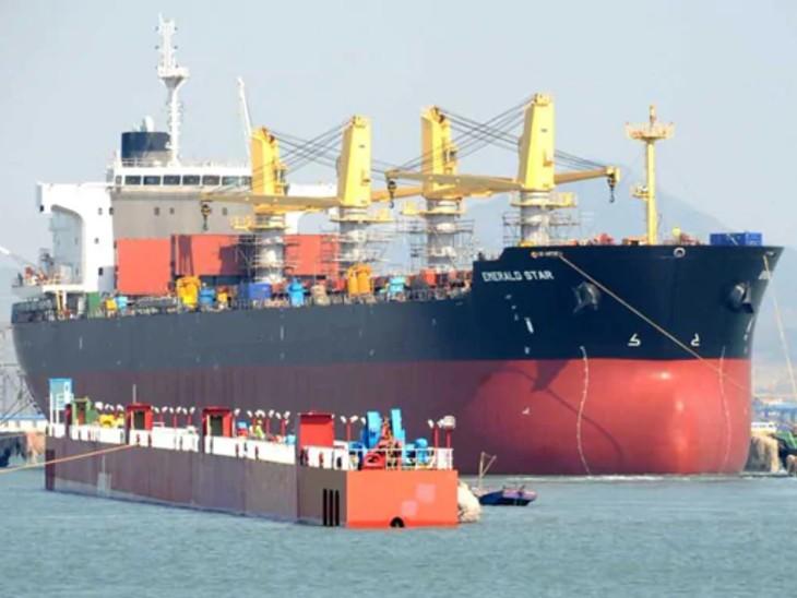 भारत के विदेश मंत्रालय ने नाविकों की मदद और वापसी के लिए चीन के विदेश मंत्रालय से संपर्क किया है। -फाइल फोटो। - Dainik Bhaskar