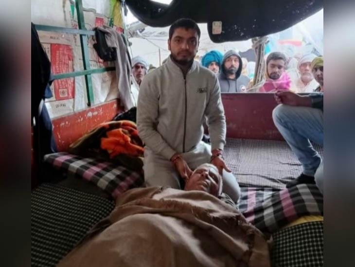 जींद के 66 साल के जगबीर का शव रविवार सुबह ट्राली में मिला। वो टीकरी बॉर्डर पर धरना दे रहे थे।