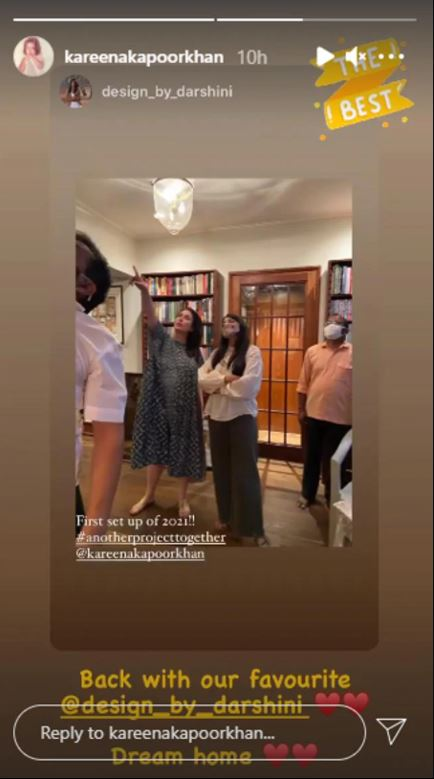 Kareena's Dream Home: Kareena Kapoor shared her photo to glimpse her 'Dream Home', will welcome other baby in this new house only MediaWinii 20/01/2021