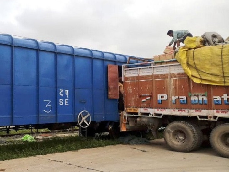 रेलवे का कहना है कि महामारी की अवधि को क्षमता और प्रदर्शन में सुधार के अवसर के तौर पर इस्तेमाल किया गया है। - Dainik Bhaskar