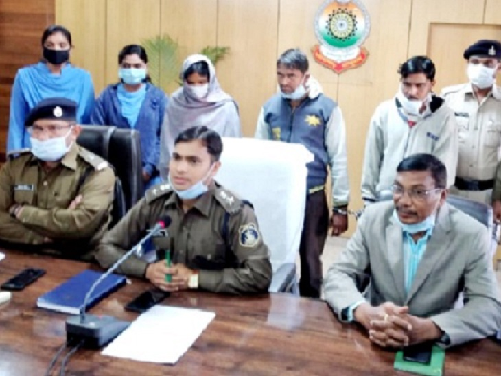गरियाबंद में युवक ने पत्नी और साले के साथ मिलकर प्रेमिका के सीने में चाकू मारा, फिर गला रेतकर मार डाला|छत्तीसगढ़,Chhattisgarh - Dainik Bhaskar