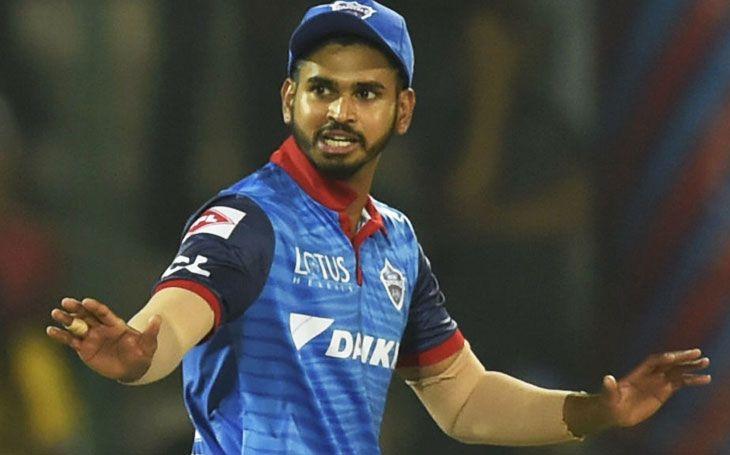 Shreyas Iyer, captain of Delhi Capitals.