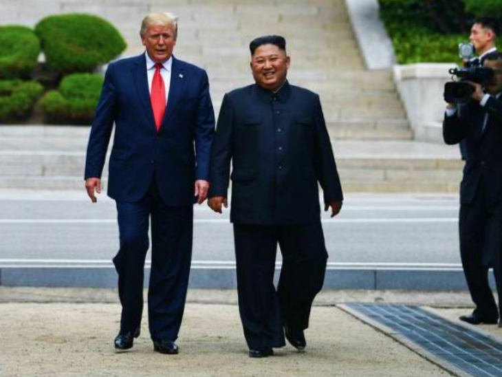 किम जोंग उन बोले- अमेरिका मेरा सबसे बड़ा दुश्मन, वहां राष्ट्रपति बदलने से नीतियां नहीं बदलतीं|विदेश,International - Dainik Bhaskar