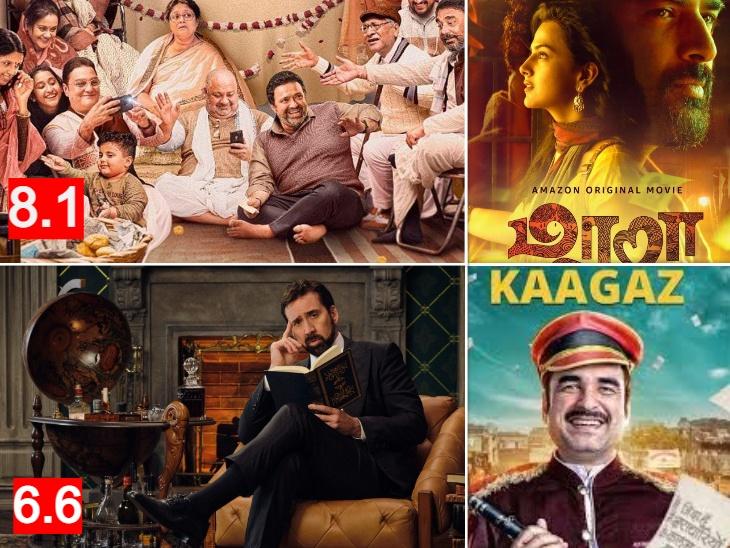 पंकज त्रिपाठी की 'कागज' से लेकर अर्जुन रामपाल की 'नेल पॉलिश' तक, कैसी है जनवरी में रिलीज हुईं वेब सीरीज और फिल्मों की IMDB रेटिंग