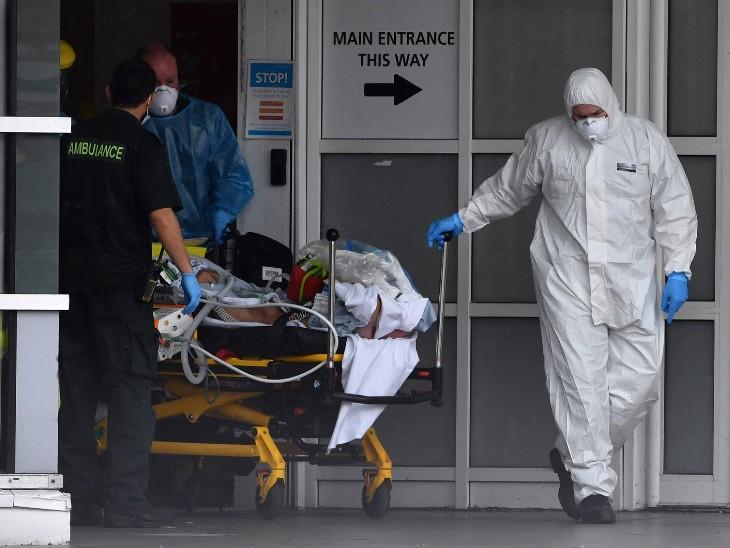 UK में संक्रमण से मरने वालों की संख्या बढ़ी; सितंबर तक 20-22 मौतें हो रहीं थीं, अब हर दिन हजार से ज्यादा लोग जान गंवा रहे