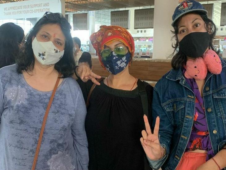 धाकड़ फिल्म की शूटिंग के लिए दिव्या दत्ता भोपाल पहुंची भोपाल,Bhopal - Dainik Bhaskar