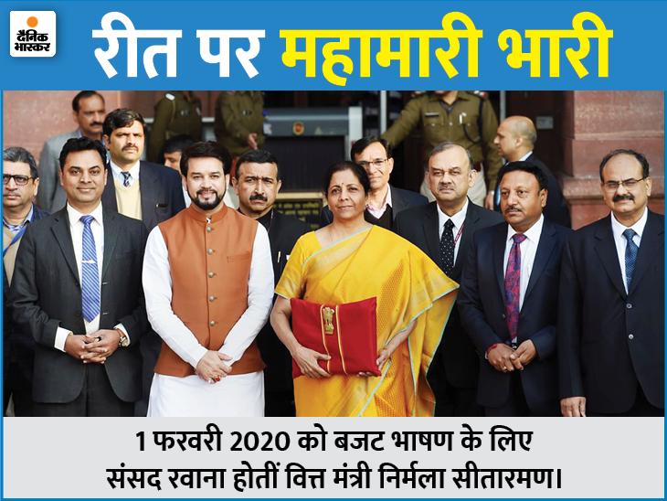 73 साल में पहली बार बजट दस्तावेज नहीं छपेगा, वित्त मंत्री सॉफ्ट कॉपी से भाषण पढ़ेंगी|बिजनेस,Business - Dainik Bhaskar