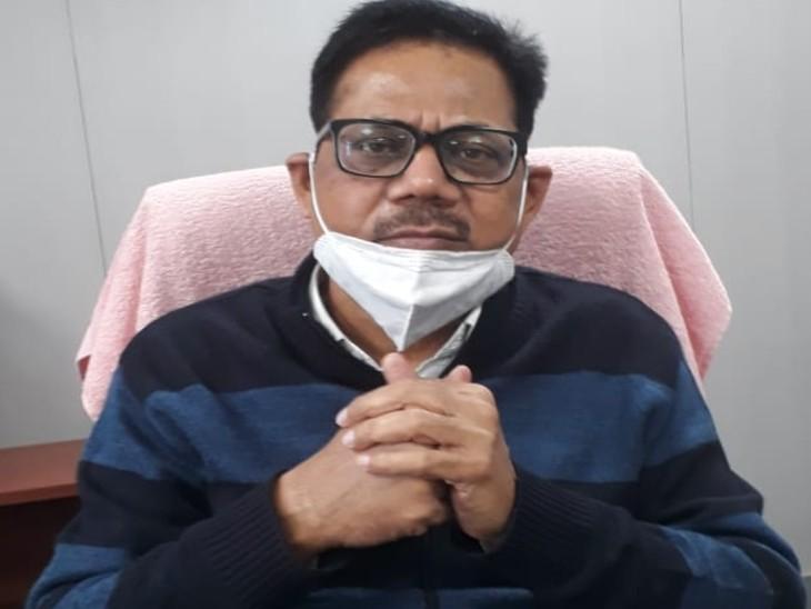 बिहार राज्य विश्वविद्यालय सेवा आयोग (BSUSC) के चेयरमैन प्रो. राज्यवर्द्धन आजाद।