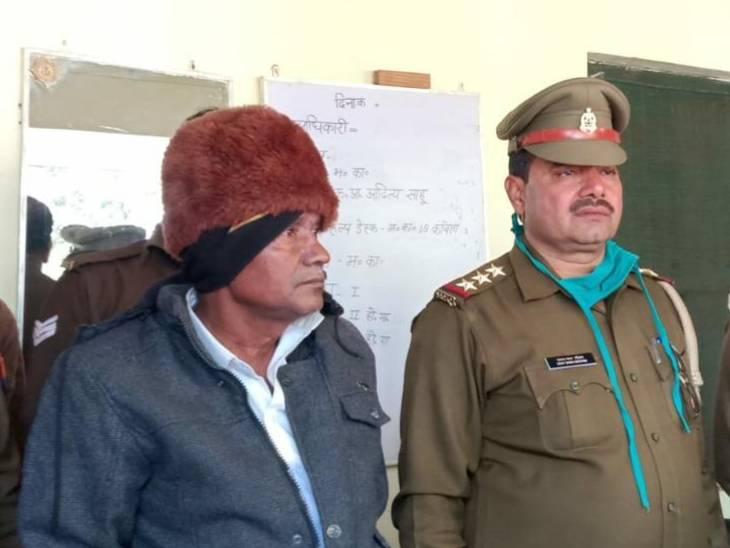 आरोपी को पुलिस ने जेल भेजा।