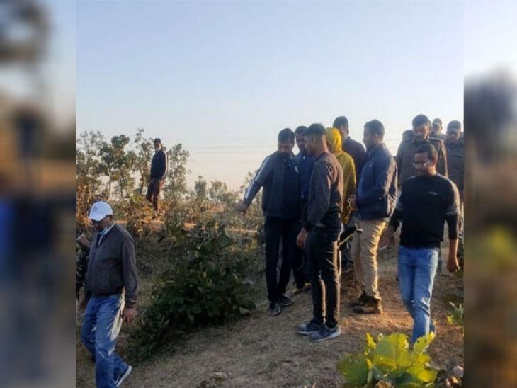 ग्रामीण एसपी नौशाद आलम की निगरानी में घटना को रिक्रिएट किया गया।