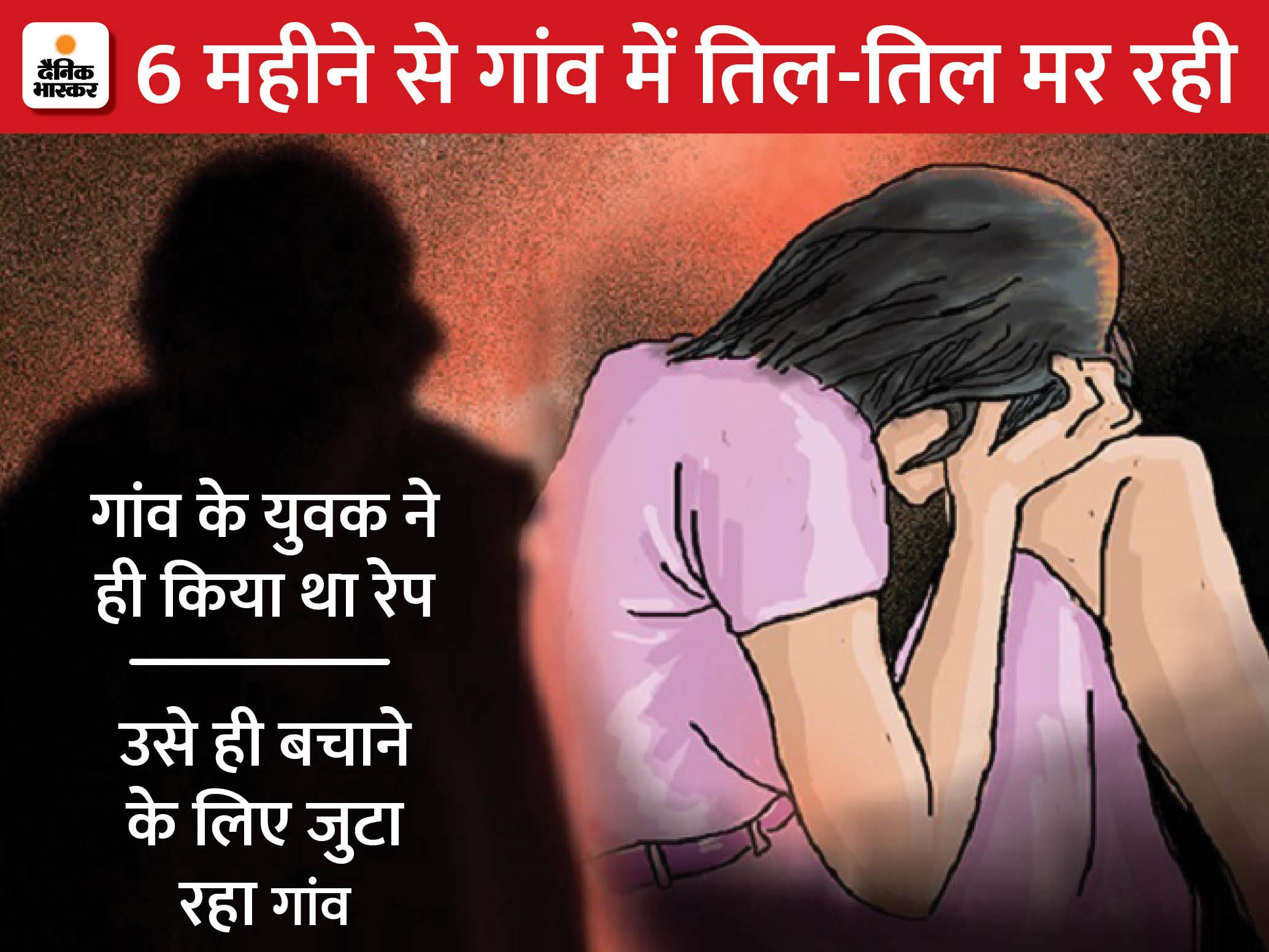 दरभंगा में पंचायत दे रही थी केस उठाने का दबाव, जान की धमकी तक दी, जहर खाकर लड़की गंभीर|बिहार,Bihar - Dainik Bhaskar