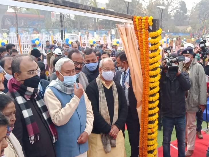 7.6 km लंबा R ब्लॉक-दीघा रोड चालू, मुख्यमंत्री ने जनता को समर्पित किया 4/6 लेन का 'अटल पथ'|बिहार,Bihar - Dainik Bhaskar