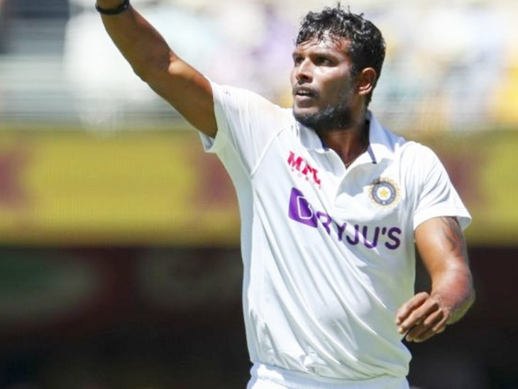 डेब्यू पर भारत के दूसरे सबसे सफल बाएं हाथ के तेज गेंदबाज बने नटराजन, पहली पारी में 3 विकेट लिए|क्रिकेट,Cricket - Dainik Bhaskar
