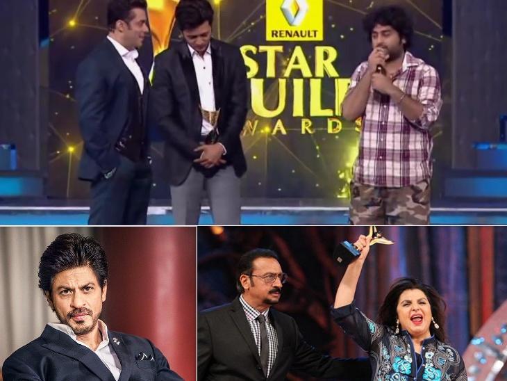सलमान खान- अरिजीत सिंह की बहस से लेकर केआरके के अवॉर्ड फेंकने तक, ये हैं अवॉर्ड फंक्शन की सबसे कंट्रोवर्शियल फाइट|बॉलीवुड,Bollywood - Dainik Bhaskar