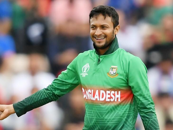 शाकिब 14 महीने बाद इंटरनेशनल क्रिकेट में वापसी करेंगे, ICC ने 1 साल का बैन लगाया था क्रिकेट,Cricket - Dainik Bhaskar