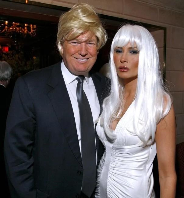 2007 में न्यूयॉर्क में अरबपति वूडी जॉनसन की विग आउट बर्थडे पार्टी में मेलानिया ने अपना अलग ही रूप दिखाया था।