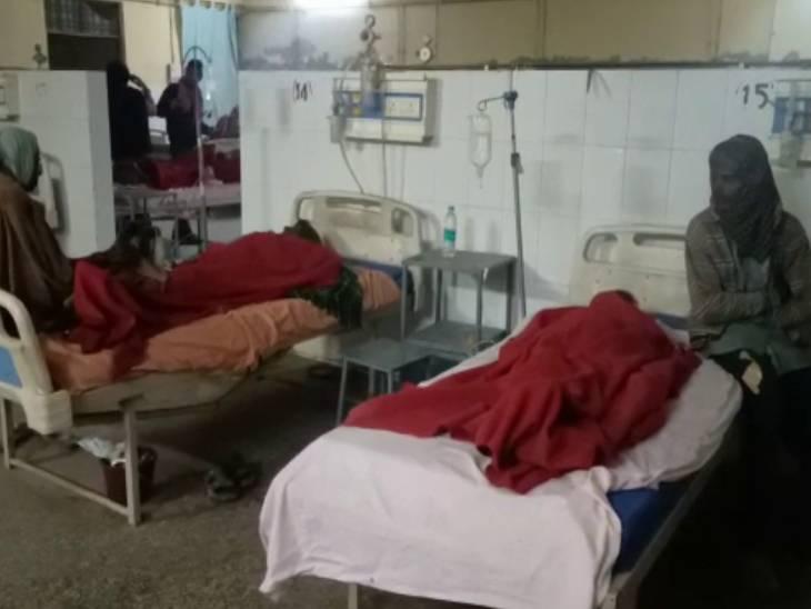 प्रतापगढ़ में ईंट भट्ठा पर काम करने वाले दो मजदूरों की मौत, महिला समेत छह की हालत बिगड़ी|इलाहाबाद,Allahabad - Dainik Bhaskar
