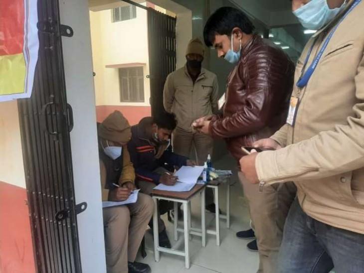प्रयागराज में RSS के खंड कार्यवाह को मारी गोली, SRN अस्पताल में भर्ती; वजह तलाश रही पुलिस|इलाहाबाद,Allahabad - Dainik Bhaskar