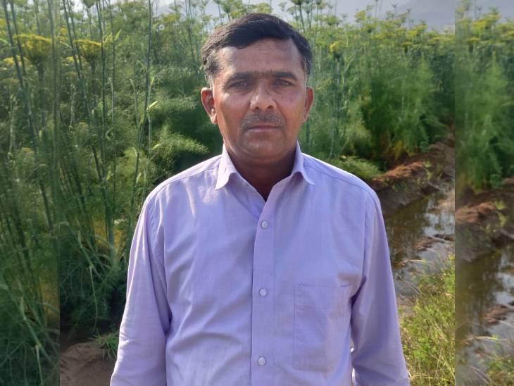 12वीं पास इशाक ने पारंपरिक खेती छोड़ सौंफ की खेती शुरू की, आज सालाना 25 लाख रुपए मुनाफा कमा रहे|DB ओरिजिनल,DB Original - Dainik Bhaskar