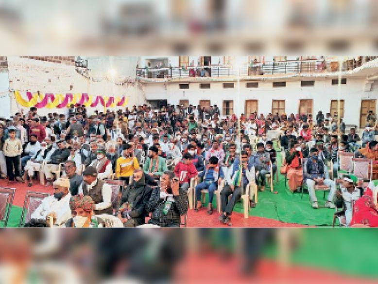 संवेदनहीन पार्टी है भाजपा, कांग्रेस को वोट देकर विजयी बनाएं: वैभव|पोकरण,Pokhran - Dainik Bhaskar