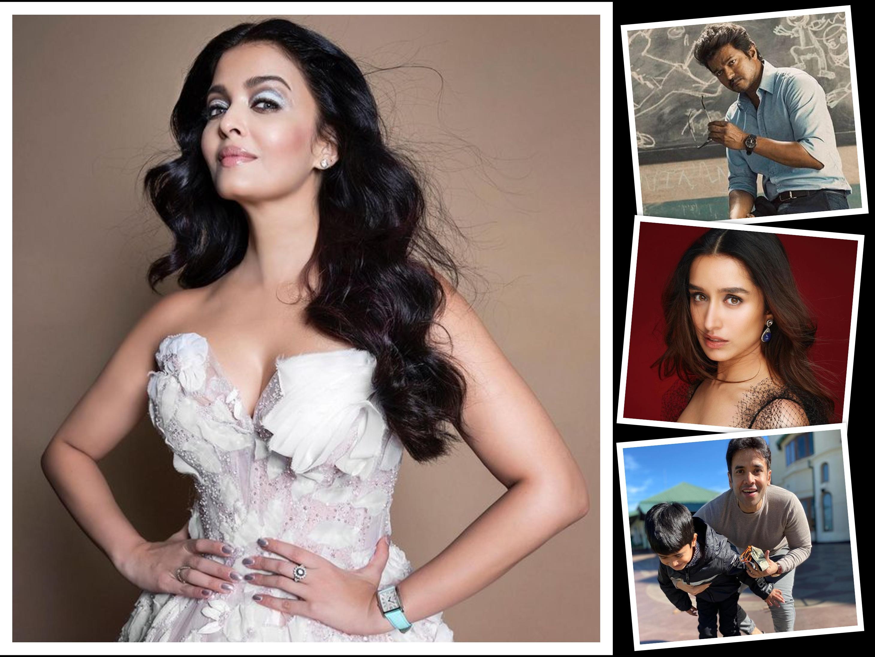 वरुण धवन ने दी हिंट जल्द ही शादी कर सकती हैं श्रद्धा कपूर, ऐश्वर्या राय ने शुरू की मणिरत्न्म की फिल्म की शूटिंग|बॉलीवुड,Bollywood - Dainik Bhaskar